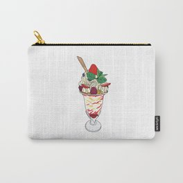 Strawberry Sundae Carry-All Pouch