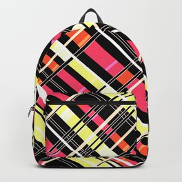 Striped pattern 12 Backpack