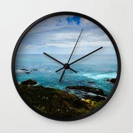 Cambrian Seascape Wall Clock