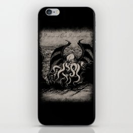 The Rise of Great Cthulhu iPhone Skin