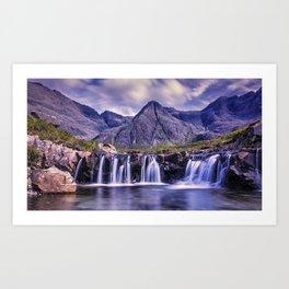 The Fairy Pools Glen Brittle Isle Of Skye United Kingdom Ultra HD Art Print