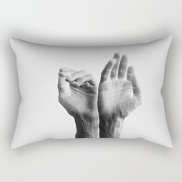 Forearms, inverted Rectangular Pillow