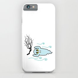 Strong winds iPhone Case