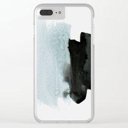 minimalism 4 Clear iPhone Case