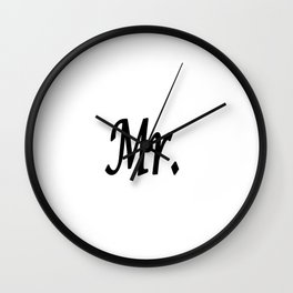 Mr. Wall Clock