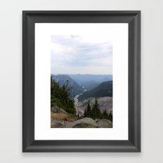 Rainier Gorge Framed Art Print