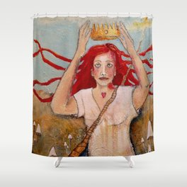 Crowning Herself Shower Curtain