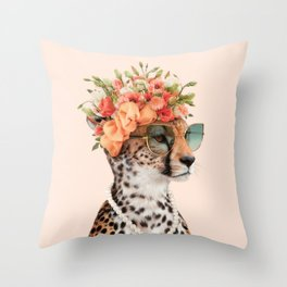 ROYAL CHEETAH Throw Pillow