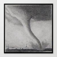 kansas Canvas Prints featuring Kansas by Jenna Cain