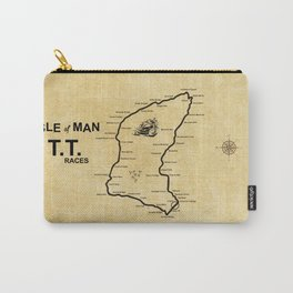 Isle Of Man TT Races Carry-All Pouch