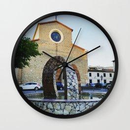 City Center - Prato - Tuscany Wall Clock