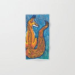 zen fox Hand & Bath Towel