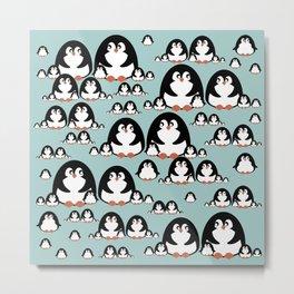 Penguins Metal Print
