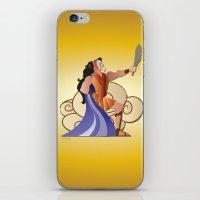 hercules iPhone & iPod Skins featuring Leo - Hercules by AmadeuxArt