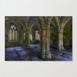 Valle Crucis Abbey Canvas Print