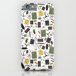 Printmaker's Supplies - Clear iPhone Case