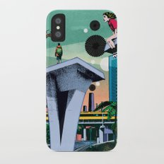 During his absence iPhone X Slim Case