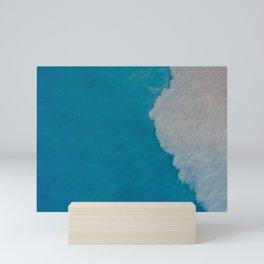 Ocean Wave Aerial Photography Mini Art Print