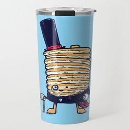 Fancy Captain Pancake Travel Mug