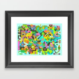 Neighbourhood Framed Art Print