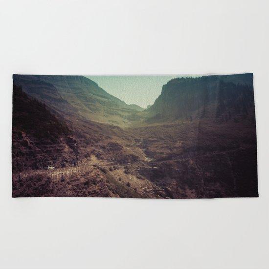 Adventure Mountain Beach Towel