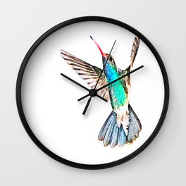 Zunzun ( The Cuban Emerald  ) Wall Clock