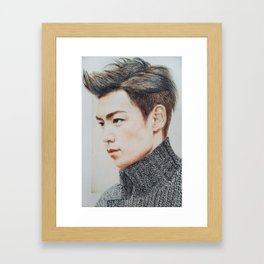 T.O.P Framed Art Print