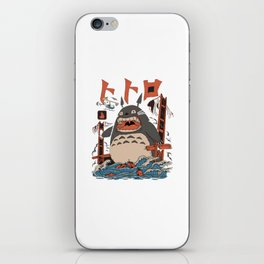 The Neighbor's Attack iPhone Skin