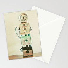 Tower of Cameras Stationery Cards