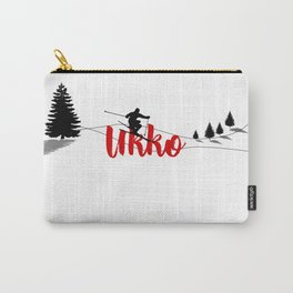Ski at Ukko Carry-All Pouch
