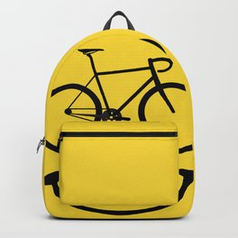 Bicycle Smiley Face Backpack