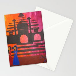 Indian Sunset Stationery Cards