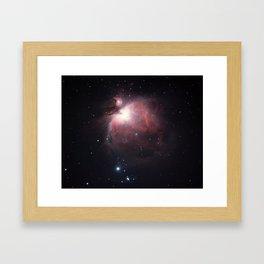The Great Nebula Framed Art Print
