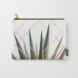 Tropical Desire - Foliage and geometry Carry-All Pouch