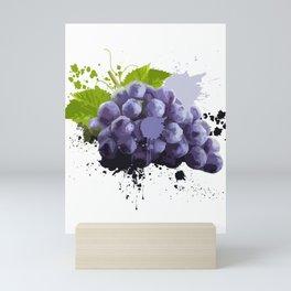 Grapes Fruit Healthy-food Plants Flower Sweet Gift Mini Art Print
