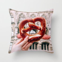 Tie the Knot | Munich, Germany Throw Pillow