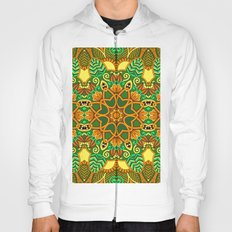 African Floral Pattern 1 Hoody