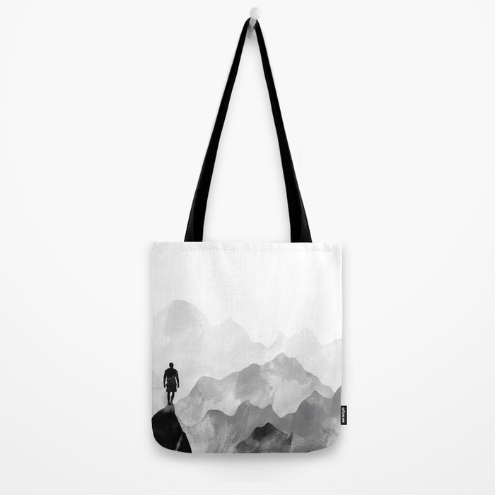 Top of the Mountain Tote Bag