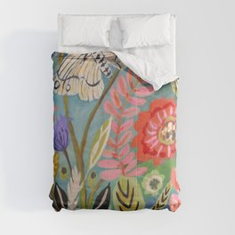 Butterfly Floral Comforters