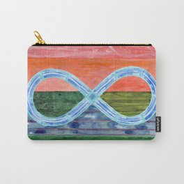 Eternity Symbol over flat Landscape Carry-All Pouch