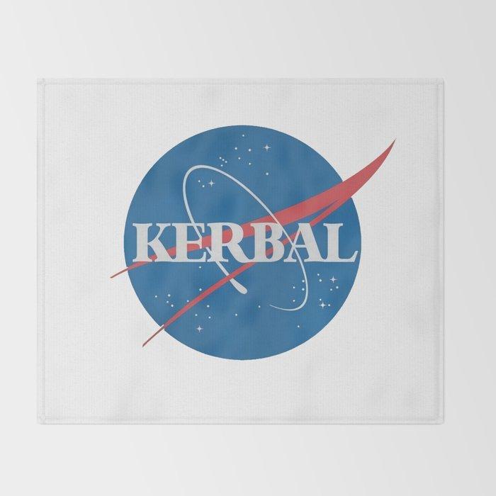 Kerbal Space Program Throw Blanket