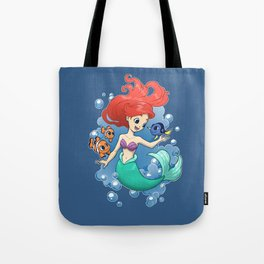 Finding New Friends Tote Bag
