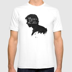 The Odds – Han Solo Silhouette Quote Mens Fitted Tee SMALL White