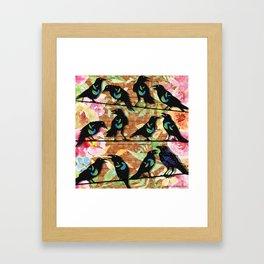 M is for Murder - Jury Framed Art Print