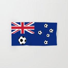 Australian Flag Football Hand & Bath Towel