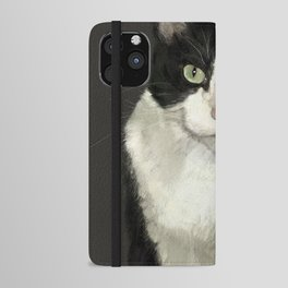 Cat Eightball iPhone Wallet Case