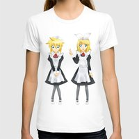 vocaloid T-shirts featuring Kagamine Twins by Amber Steel