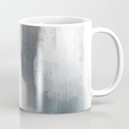 Pastel blue and white minimal painting Coffee Mug