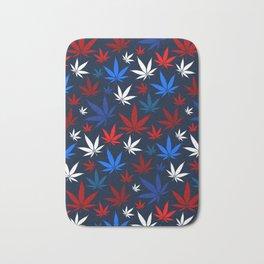 American Weed Pattern Bath Mat