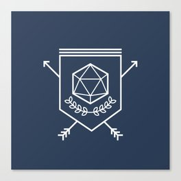 Roleplayer's Crest Canvas Print